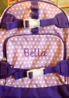 Embroidered Backpack - Bella