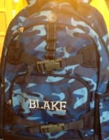 Embroidered Backpack - Blake